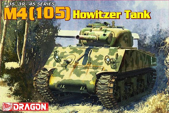 De M4 (105) Houwitser Tank – DRAGON 6548