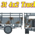 Sd.Kfz.305 allemand 3t 4×2 Camion - CYBER-HOBBY 6670
