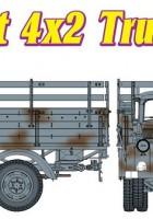 СД.КФЗ.305 немски 3T 4×2 камион - кибер-хоби 6670