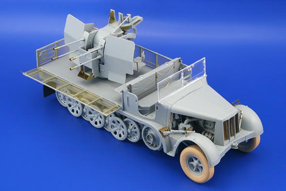 СД.КФЗ.7/1 20 мм Flakvierling 38 - Едуард 36089