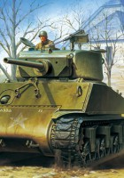 "US Assault Tank M4A3E2 Sherman ""JUMBO"" - TASCA"