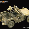 Amerikaanse Jeep Willys MB - VOYAGER MODEL PE35194