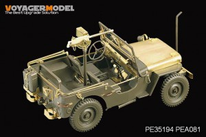 U.S. Jeep Willys MB – VOYAGER MODEL PE35194
