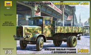 L-4500 S EINHEITSKABINE (VOKIETIJOS TRUCK) - Zvezda 3647