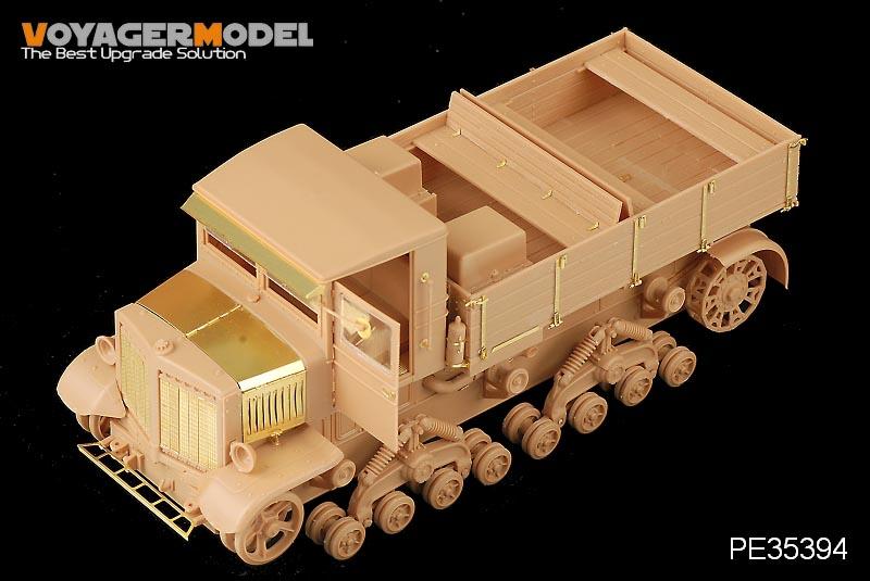 Set Russian Voroshilovets Tractor - VOYAGERMODEL PE35394