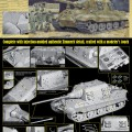JAGDTIGER PORSCHE PRODUCTION TYPE w/Zimmerit - DRAGON 6493