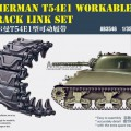 Sherman T54E1 Workable Track Link Set - BRONCO AB3546