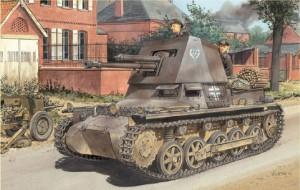 Panzerjager我4.7厘米巴基斯坦(t)尽早生产的龙6258