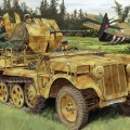 Sd.Kfz.10/5 fur 2cm FlaK 38 - DRAGON 6676