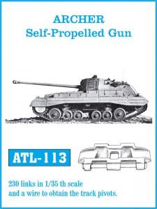 Archer autopropulsados Pistola - FRIULMODEL ATL-113
