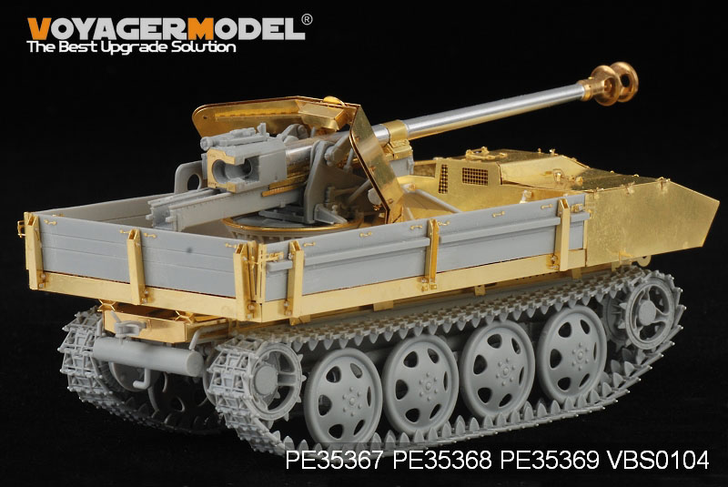 German 75mm PaK 40/4 auf Steyr RSO basic - VOYAGER MODEL PE35367