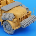 Duitse Steyr 1500A accessoires set - ZWARTE HOND T35043