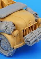 Allemand Steyr 1500A set accessoires - CHIEN NOIR T35043
