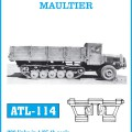 Spanish halftrack L 4500R de MULA FRIULMODEL ATL-114