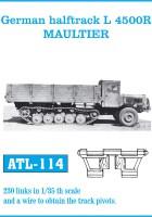 ドイツhalftrack L4500R MAULTIER-FRIULMODEL ATL-114