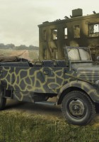 L1500A (Kfz.70), WWII German Personnel Car - ICM 35525