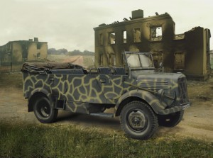 L1500A (Kfz.70), WWII German Personnel Car - ICM 35525