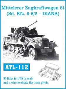 Mitteleler Zugkraftwagen 5t ( Sd. Di autoveicoli. 6-6/2 - DIANA) - FRIULMODEL ATL-112
