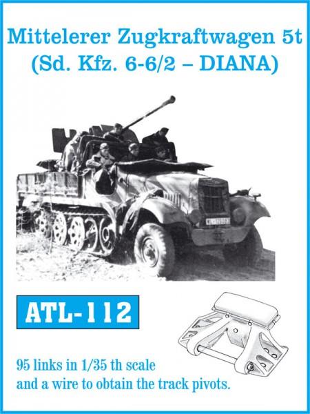 Mitteleler Zugkraftwagen 5t ( Sd. Auto. 6-6/2 - DIANA) - FRIULMODEL ATL-112