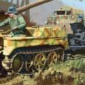 Sd.Kfz.2 Kettenkrad Myöhässä Tuotanto - DRAGON 6446