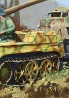 Sd.Kfz.2 Kettenkrad la Fin de la Production - DRAGON 6446