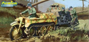 Sd.Kfz.2 Kettenkrad Late Production - DRAGON 6446