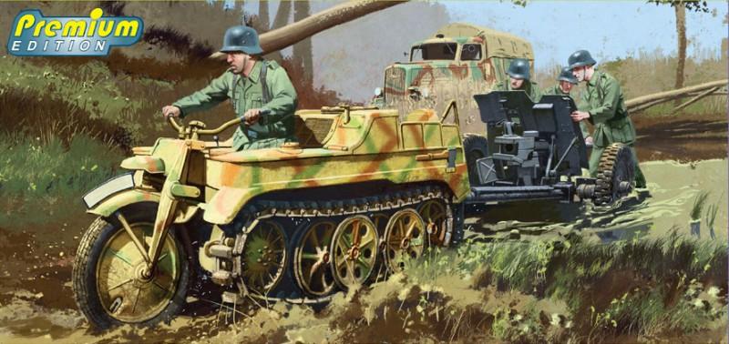 Sd.Kfz.2 Kettenkrad Späten Produktion - DRAGON 6446