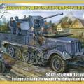 Sd.Kfz.6/2 (BN9) 3.7 cm FlaK36 auf Fahrgestell Zugkraftwagen - BRONCO CB35043