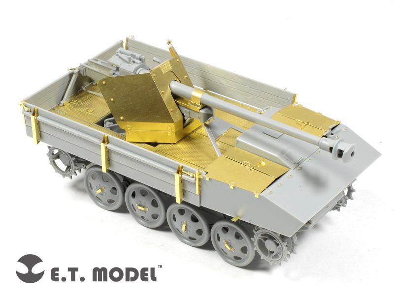 Tysk WWII 7,5 cm Pak 40/4 auf RSO - E. T. MODEL ET35-070
