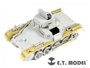 A segunda guerra mundial alemão Pz.Kpfw.Eu Ausf.Básico - E. T. MODELO ET35-072