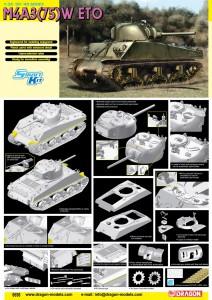 1/35 M4A3(75)W ETO - DRAGON 6698