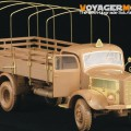 German Benz L4500A truck - VOYAGER MODEL PE354071
