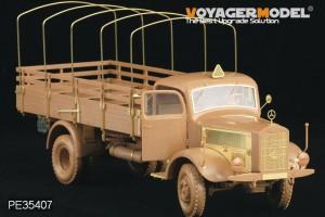 German Benz L4500A truck - VOYAGER MODEL PE354071