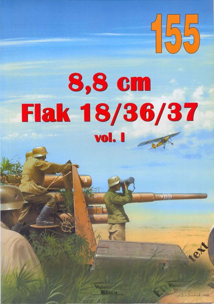 88mm - Flak 18/36/37 - Wydawnictwo Militaria 155