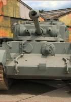 A34 Κομήτη 17pdr Cruiser Tank - με τα Πόδια Γύρω από