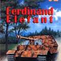 Ferdinanda - Slon - sdkfz.184 - Wydawnictwo Militaria 052
