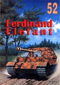 Фердинанд - Елефант - sdkfz.184 - Обробку Militaria 052