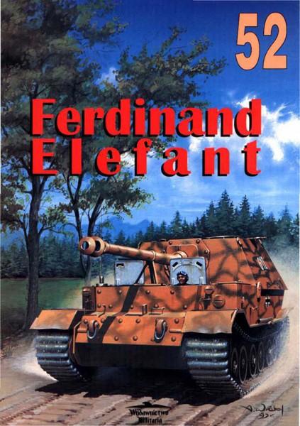 Ferdinand - Elephant - sdkfz.184 - Wydawnictwo Militaria 052