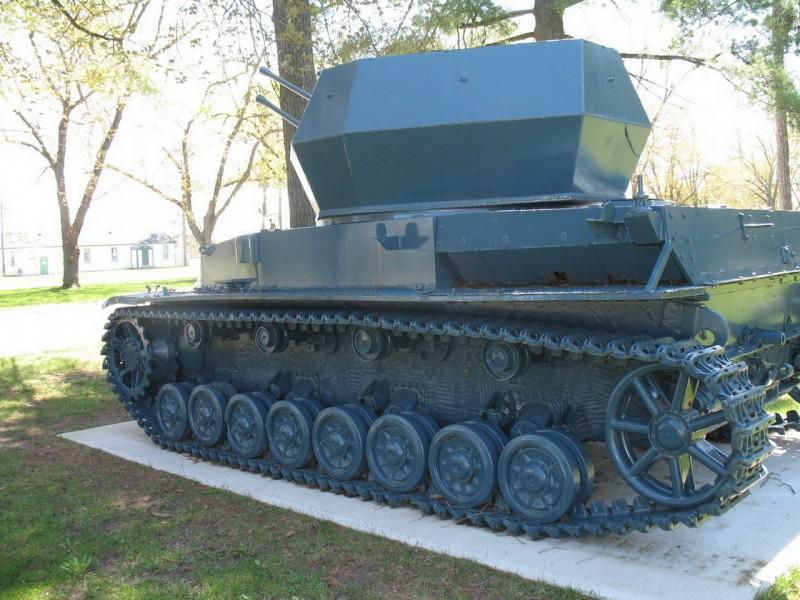Flakpanzerkampfwagen IV - прогулка вокруг