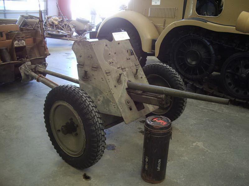 德国的37毫米Pak35-36反坦克枪走
