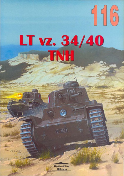 LT vz 34/40 - Wydawnictwo Militaria 116
