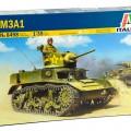 Kerge Tank M3A1 - ITALERI 6498