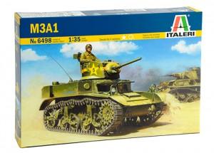 Light Tank M3A1 - ITALERI 6498