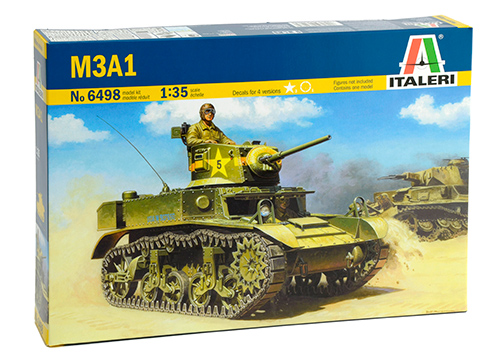 Лигхт Танк M3A1 - ITALERI 6498