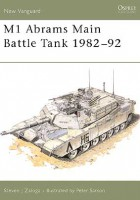 M1 Abrams Main Battle Tank 1982–92  - NEW VANGUARD 02