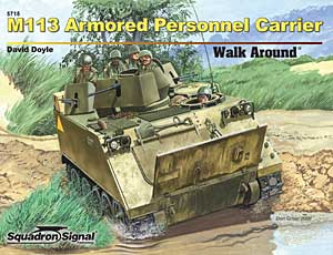 M113 APC Walk Around - Squadrone Segnale SS5715