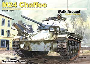M24 Chaffee Walk Around - Squadrone Segnale SS5714