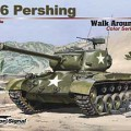 M26 Pershing Color Walk Around-сигнал эскадрильи SS5706