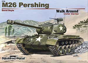 M26 Pershing Color Walk Around - Squadron Signal SS5706