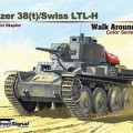 Panzer 38(t) Walk Around - Segnale squadrone SS5713
